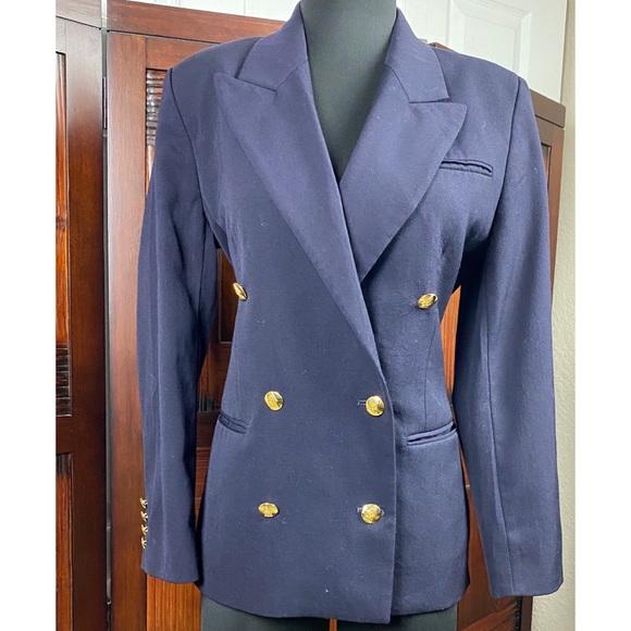 Austin Reed Jackets Coats Austin Reed Doublebreasted Oxford Blazer Jacket Poshmark